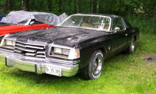 1979 dodge magnum gt v8 for sale by onwer in buxton maine. Black Bedroom Furniture Sets. Home Design Ideas