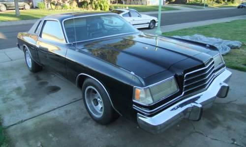 1979 dodge magnum xe 360 cu 727 auto for sale sf bay area california. Black Bedroom Furniture Sets. Home Design Ideas