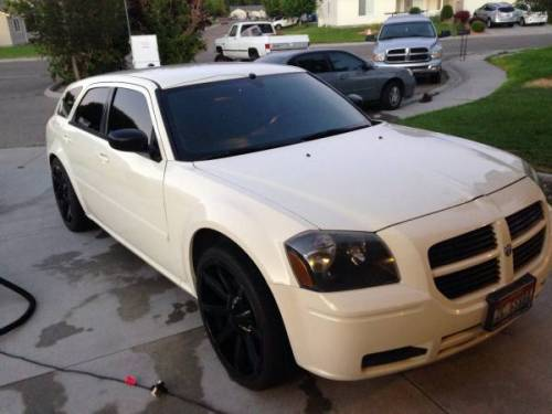 2005 dodge magnum 2 7l w 22 black rims for sale in nampa boise id. Black Bedroom Furniture Sets. Home Design Ideas