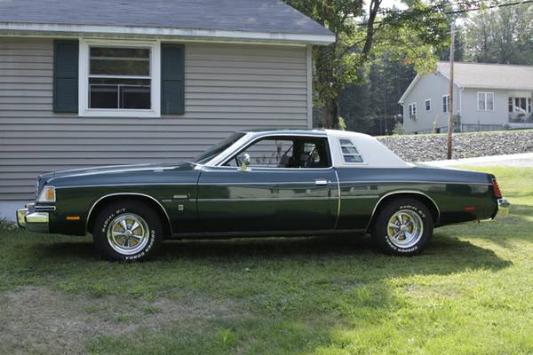1978 dodge magnum 360 ci v8 auto for sale in littleton new hampshire. Black Bedroom Furniture Sets. Home Design Ideas
