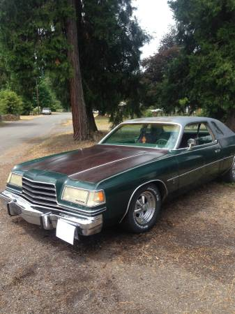 1978 dodge magnum automatic for sale in eugene oregon. Black Bedroom Furniture Sets. Home Design Ideas