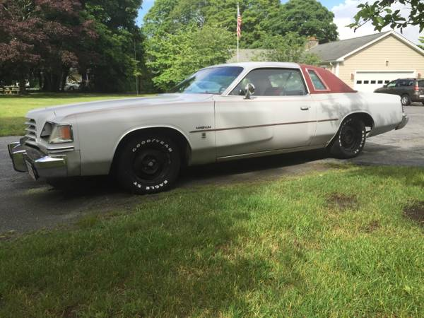 1978 dodge magnum 318 v8 auto for sale in somerset massachusetts. Black Bedroom Furniture Sets. Home Design Ideas