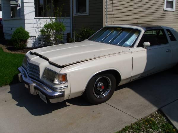 1979 dodge magnum 318 v8 auto for sale in lima ohio. Black Bedroom Furniture Sets. Home Design Ideas