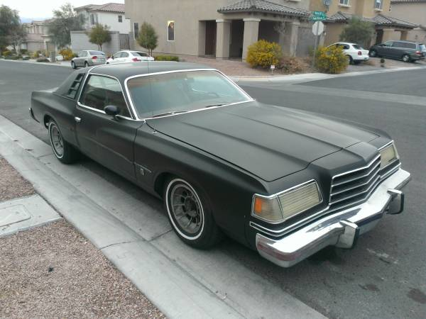 1978 dodge magnum 360 v8 auto for sale in las vegas nevada. Black Bedroom Furniture Sets. Home Design Ideas