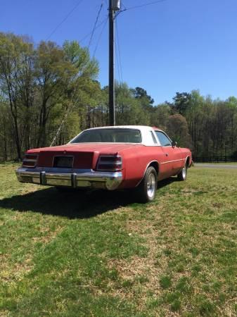 1979 Dodge Magnum Xe 318 V8 Auto For Sale In Zebulon North Carolina